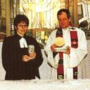 Gemeinsam Abendmahl / Eucharistie