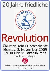Plakat 20 Jahre