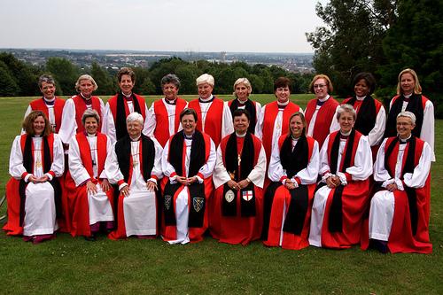 Bischöfinnen in der Church of England (CoE)