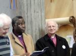 Erzbischof em. Antonius Glazemaker (links / Niederlande), Bischof Dr. John Okoro (mitte / Österreich) und Bischof em. Bernhard Heitz (rechts / Österreich)