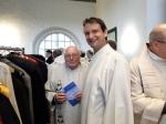 Dekan i.R. Edgar Nickel und Pfarrer Klaus-Heinrich Neuhoff (Schweiz)