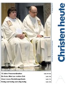 Screenshot der Titelseite der Mai-Ausgabe 2011 von Christen heute