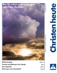Titelblatt Christen heute Januar 2013