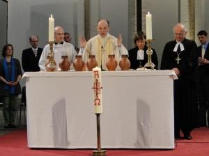 Gelebte Ökumene - gemeinsame Lima-Liturgie der anglikanischen, alt-katholischen und evangelischen Kirchen