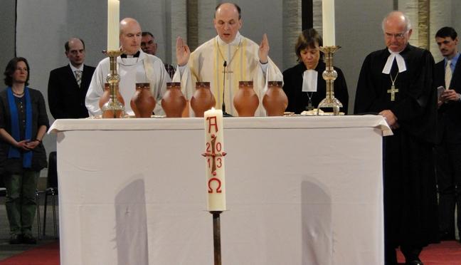 30 Jahre gegenseitige Einladung zu Abendmahl und Eucharistie – Evangelisch & Katholisch auf dem Weg zu mehr Gemeinschaft