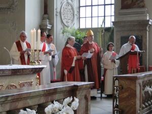Begrüßung durch Bischof Dr. Matthias Ring