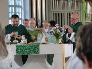 Beim Eucharistiegebet