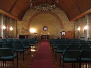 Der Gottesdienstraum