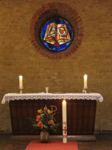 Der vorbereitete Altar