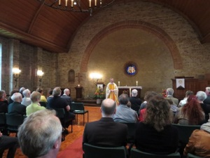 Pfarrer Reynders predigt