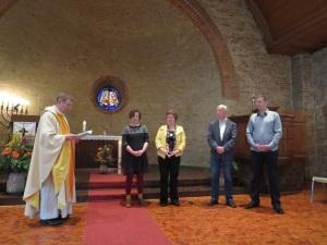 Vorstellung und Verpflichtung des Kirchenvorstands