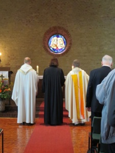 Auszug der Geistlichen