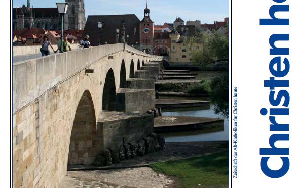 Mit Christus Brücken bauen – Christen heute im Mai 2014
