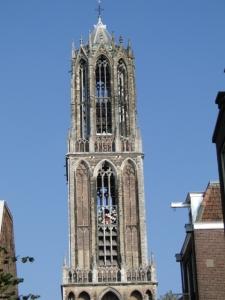Der Turm des Domes von Utrecht (der Dom war einer der Tagungsorte)