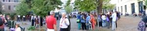Eröffnungsveranstaltung auf dem Mariaplaats in Utrecht