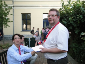 Tanja Schmidt & Pfarrer Jens Schmidt (Dresden)