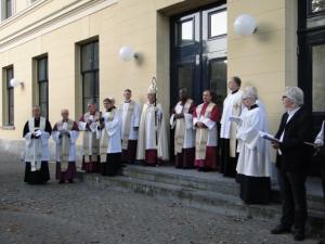 Die versammelten Alt-Katholischen Bischöfe