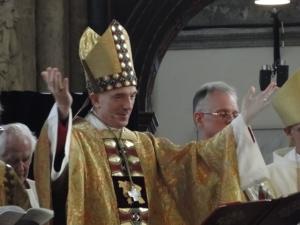 Erzbischof Dr. Vercammen eröffnet den Jubiläums-Gottesdienst