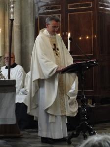 Bischof Dr. Harald Rein (Schweiz) hält die Jubiläums-Predigt