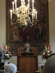 Abendempfang mit dem Bürgermeister von Utrecht