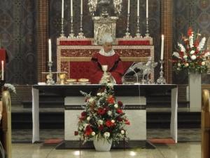 Pastorin Annemieke Duurkoop von der Pfarrgemeinde Utrecht