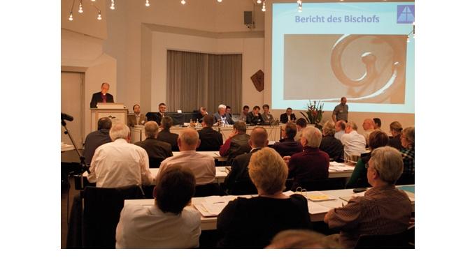 Die Bistums-Synode hat ein volles Programm