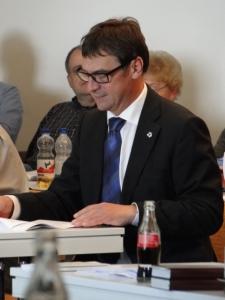 Ökumenischer Gast auf der Synode: Kirchenpräsident Dr. Volker Jung (Evangelische Kirche in Hessen und Nassau)