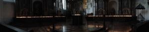 Lichtvesper am Abend in der Augustinerkirche