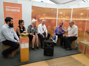 Gesprächsrunde zur Philippinisch Unabhängigen Kirche beim Ökumenischen Forum HafenCity