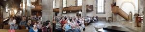 Prälat Ulrich Mack hält die Predigt