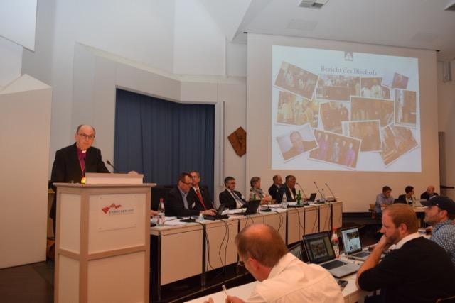 Erste Bilder von der Alt-Katholischen Bistumssynode 2016